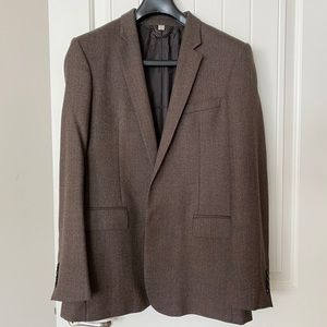 Burberry London Brown Sports Coat Jacket